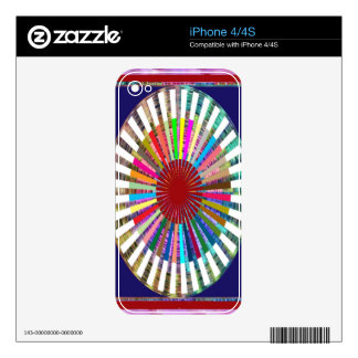 Perfect Rainbow Weave - Inspired by SUN Decal For iPhone 4