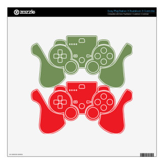 Perfect Red Decal For PS3 Controller