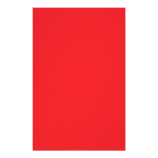 Perfect Red Stationery