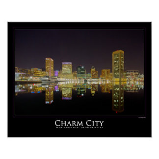 Perfect Reflections - Charm City - Baltimore Poster