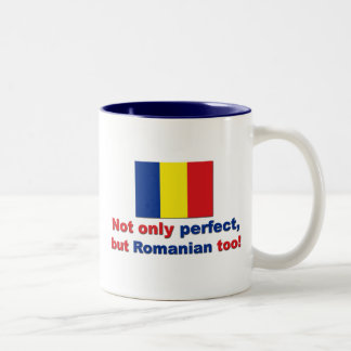 Perfect Romanian Two-Tone Coffee Mug
