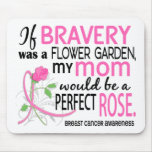 Perfect Rose 2 Mom Breast Cancer Mouse Pad