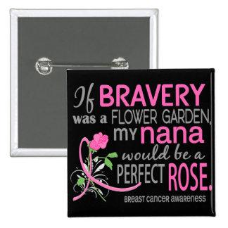Perfect Rose 2 Nana Breast Cancer Button