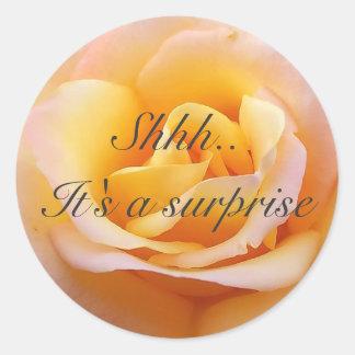 Perfect Rose - Shh. It's a surprise Sticker