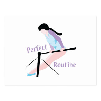 Perfect Routine Postcard