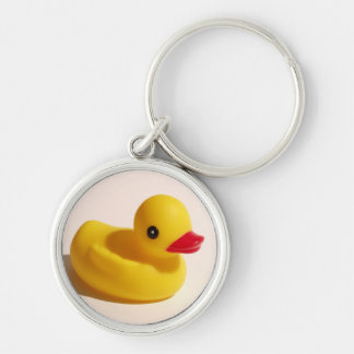 Perfect Rubber Ducky Keychain