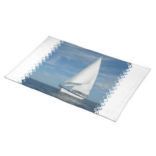 Perfect Sail Placemat Cloth Place Mat