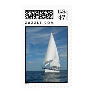 Perfect Sail Postage Stamp