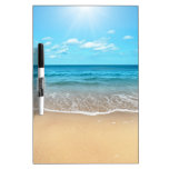 Perfect Sandy Beach Dry-Erase Whiteboard
