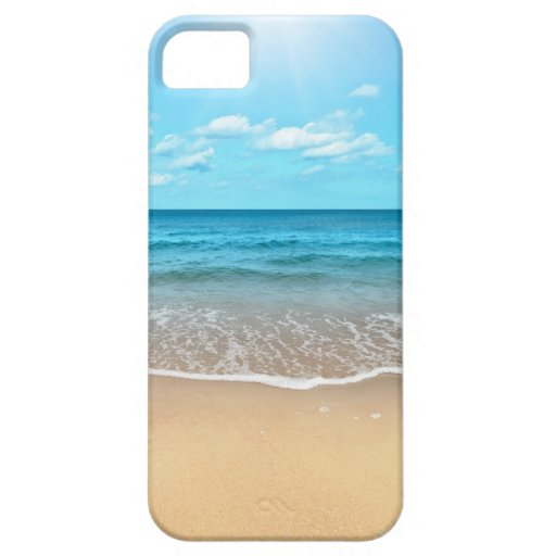Perfect Sandy Beach iPhone 5 Cases