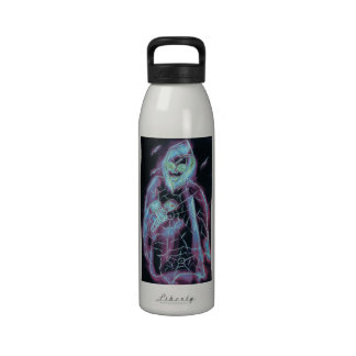 Perfect scary skeleton water bottle