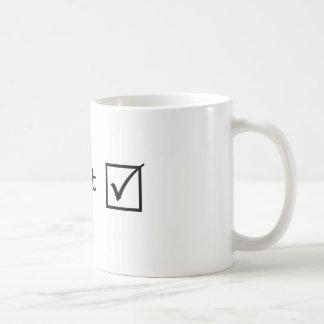 Perfect series coffee mug