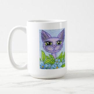 Perfect Shade of Blue, Fantasy Fairy Kitty Coffee Mug