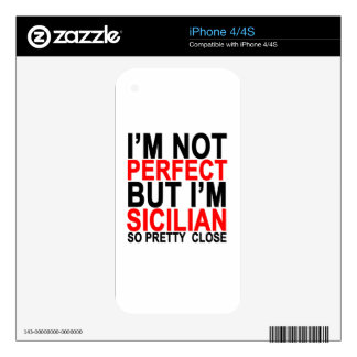 Perfect Sicilian T-Shirt.png Skins For iPhone 4S