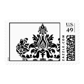 Perfect Single Damask Postage Stamp