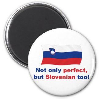 Perfect Slovenian 2 Inch Round Magnet