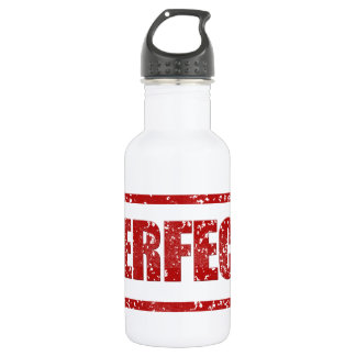 Perfect Stamp Banner Stainless Steel Water Bottle