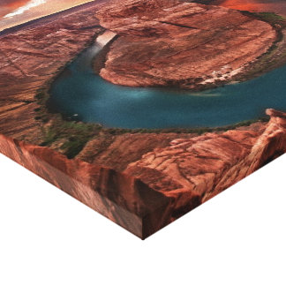 Perfect Storm, Horseshoe Bend Canvas Print