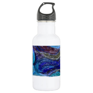 Perfect Strand (abstract landscape) 18oz Water Bottle