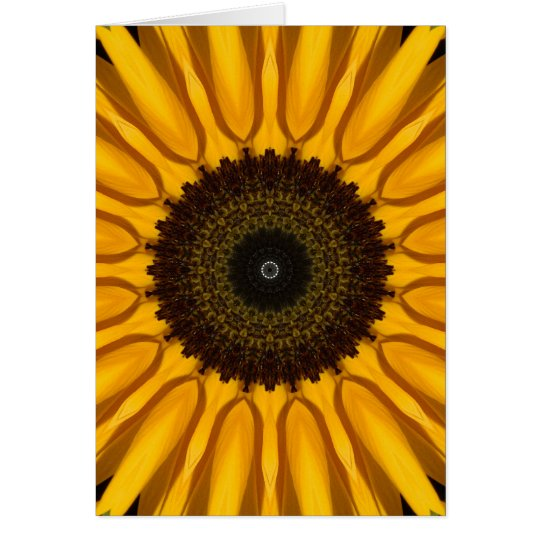 Perfect Sunflower Card
