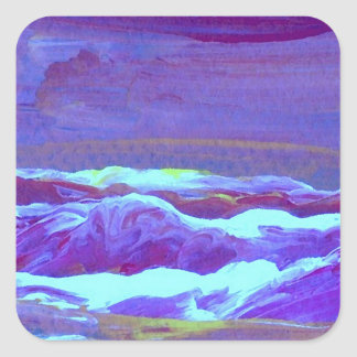 Perfect Sunset  CricketDiane Ocean Art Square Sticker