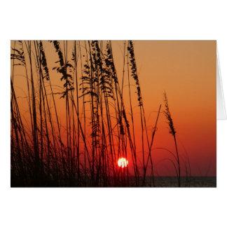 Perfect Sunset - Customized Card
