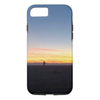 Perfect Sunset in Huntington Beach, California iPhone 7 Case