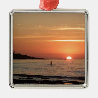 Perfect Sunset Metal Ornament