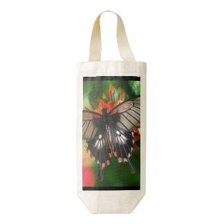 Perfect Swallowtail Butterfly Zazzle HEART Wine Bag