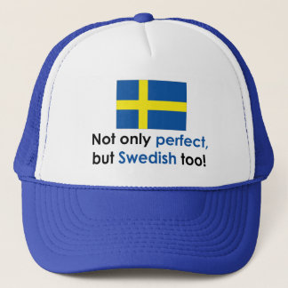 Perfect Swede Trucker Hat