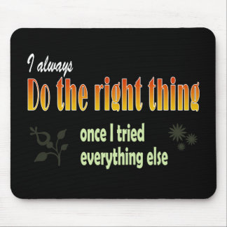 Perfect target mouse pad