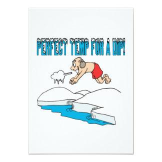 Perfect Temp For A Dip Card