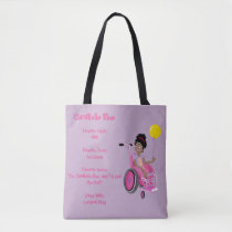 Perfect Tote - ClaraBelle Blue w/Balloon(Lavender)