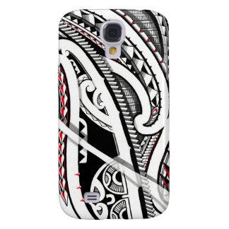 Perfect tribal polynesian/maori tattoo art samsung galaxy s4 case
