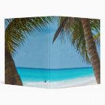 Perfect Tropical Paradise Beach Binders