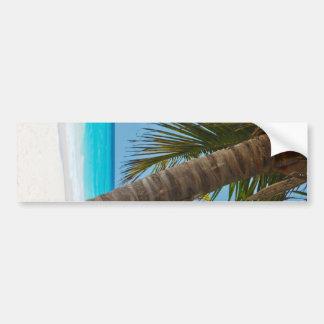 Perfect Tropical Paradise Beach Car Bumper Sticker