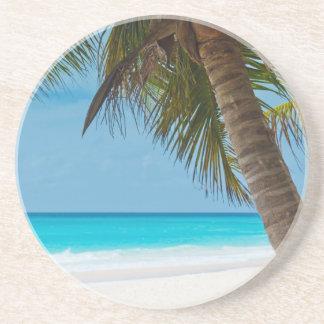 Perfect Tropical Paradise Beach Drink Coaster