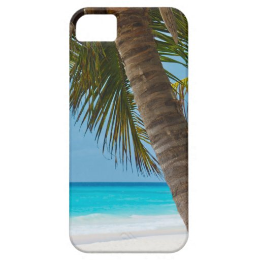 Perfect Tropical Paradise Beach iPhone 5 Cases