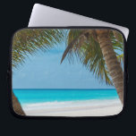 "Perfect Tropical Paradise Beach Laptop Sleeve<br><div class=""desc"">Do you need a tropical vacation? With this amazing photo you&#39;ll fly to your favorite beach in seconds.</div>"