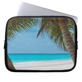 Perfect Tropical Paradise Beach Computer Sleeves
