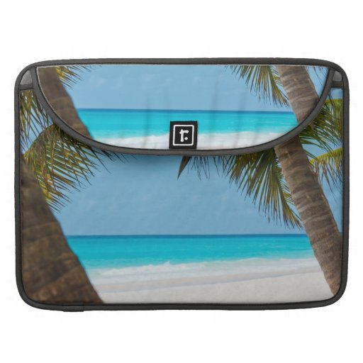 Perfect Tropical Paradise Beach Sleeves For MacBook Pro