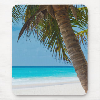 Perfect Tropical Paradise Beach Mouse Pad