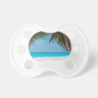 Perfect Tropical Paradise Beach Pacifier