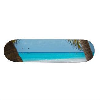 Perfect Tropical Paradise Beach Skateboard