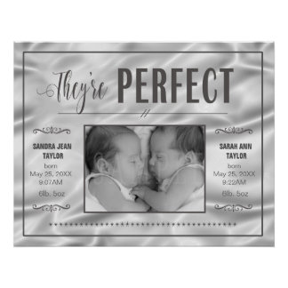 Perfect Twins Satin Template PBXS Poster