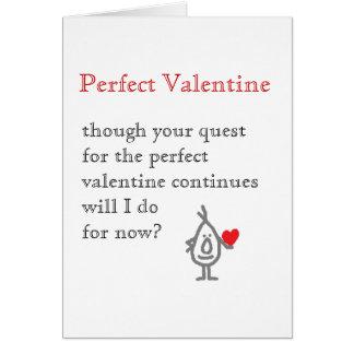 Perfect Valentine Card