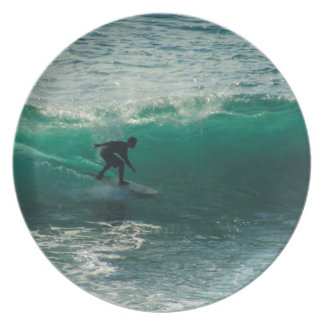 perfect wave dinner plate