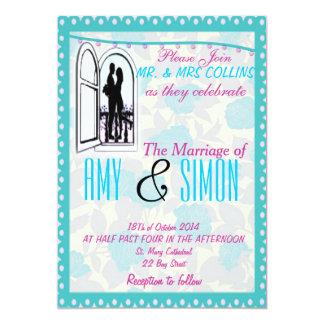 "Perfect wedding card 5"" x 7"" invitation card"