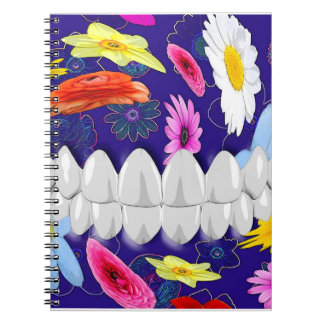 Perfect White Smile Dentist Orthodontist Notebook
