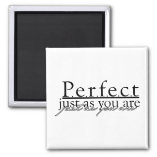 Perfect Word Art Magnet